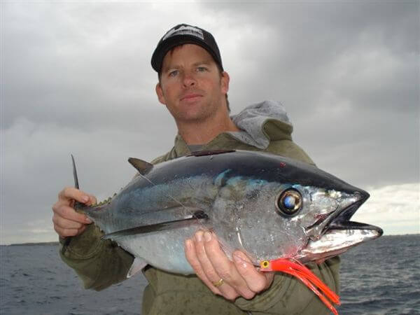 Damien Wham - southern bluefin tuna on Richter Jelly Baby